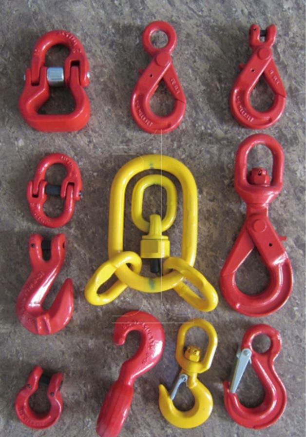 Новое поступление комплектующих для цепных стропов премиум сегмента качества и безопасности, различного такелажа.